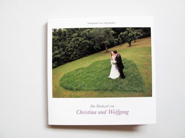 Hochzeitsbuch Christina & Wolfgang