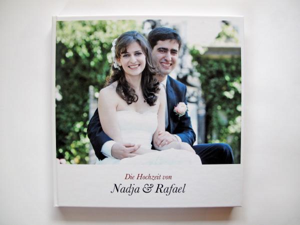 Hochzeitsbuch Nadja & Rafael