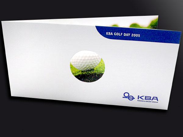 Einladung zum Golftag