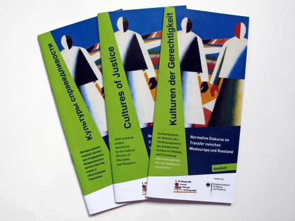 Flyer in drei Sprachen - Uni Bochum
