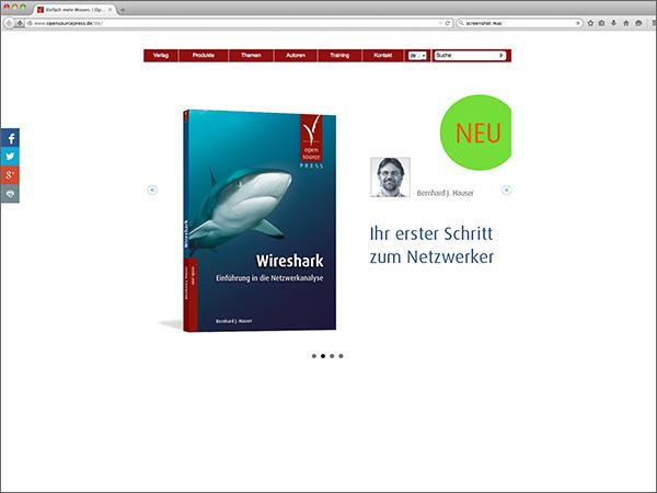 Webseite – Open Source Press
